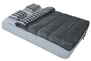 Adventure Trails Queen Size Air Mattress 6 Piece Bed in a Bag Set