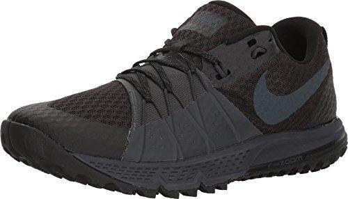 Nike Herren Air Zoom Wildhorse 4 Sneakers, Mehrfarbig (Black Anthracite 001), 43 EU (Wildhorse Nike)