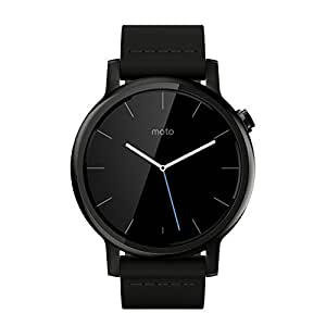 moto 2nd gen watch. Motorola Moto 360 (2nd Gen.) - Mens 42mm, Black With Leather Watch 2nd Gen M