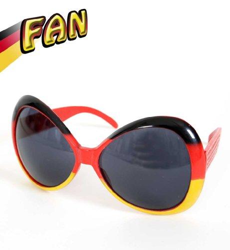 Fashion-Brille FAN, Deutschland, Fußball, WM, EM