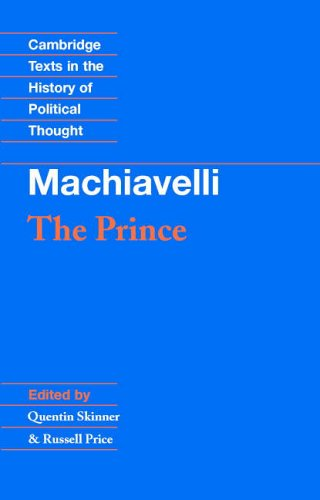 a literary analysis of the prince by machiavelli The place of the tyrant in machiavelli's political thought and the literary genre of the prince giovanni giorgini the place of the tyrant in machiavelli's political thought.