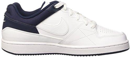 Nike - 653672 114 - Basket-Ball, enfant Blanc / noir (blanc / blanc - obsidienne)