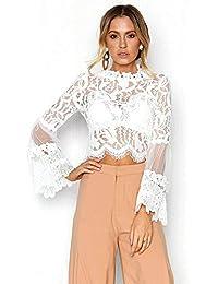 Amazon.es: Ropa Para Gorditas - Blusas y camisas / Camisetas, tops y blusas: Ropa