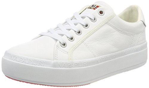 NAPAPIJRI Footwear Astrid, Sneaker Donna, Bianco (Bright White), 40 EU