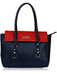 Fantosy Blue And Red Women Shoulder Bag (FNB-730) (Blue And Red)