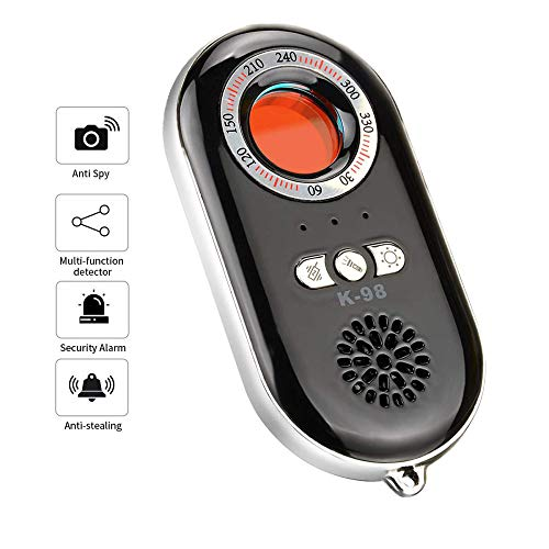 BESTSUGER Anti-Spy-Detektor, Wireless Signal Scanner, Personal Security Alarm Security Motion Motion Vibration Sensor for Travel, Home, Woman, Men, Girls