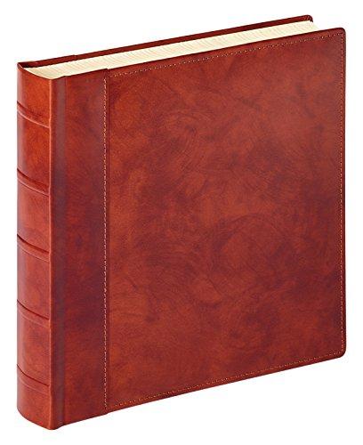 walther design FA-801-P Classicalbum Leder Valencia, Fotoalbum, braun, 32 x 32 cm