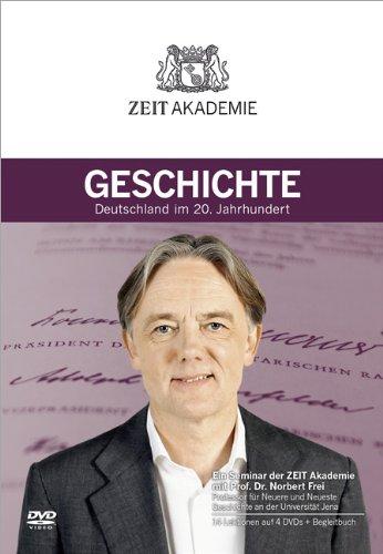 ZEIT Akademie Geschichte, 4 DVDs + Begleitbuch