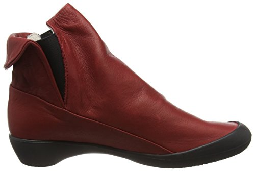 Softinos FLA346SOF Stivaletti da Donna Rosso (Red (Black Sole))