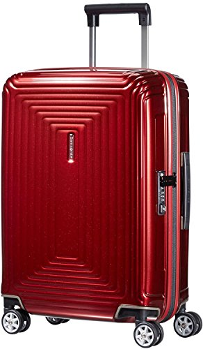 Samsonite - Neopulse Spinner 55 cm, Rojo (METALLIC RED)