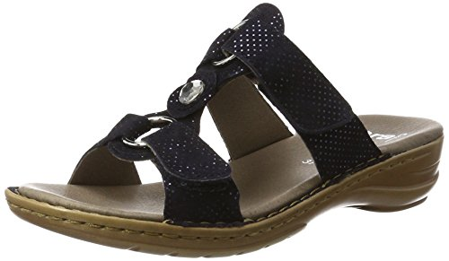 ara Damen Hawaii Pantoletten, Blau (Midnight), 41 EU (7 UK)