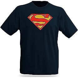 Superman Logo T-Shirt - XL