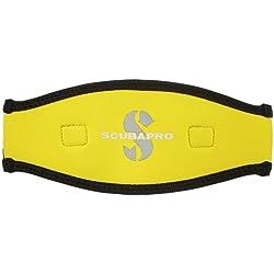 Scubapro correa máscara 2,5 mm Amarillo negro y amarillo