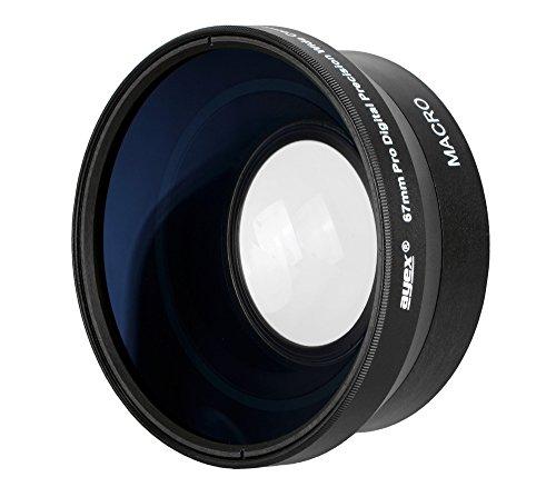 Ayex Weitwinkel-Konverter 0,45x Multi Coated Weitwinkel-Vorsatzlinse für 67mm Anschlussgewinde