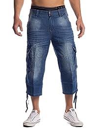 Hombres Pantalones cortos Capri Tagalong ID1481 azul claro
