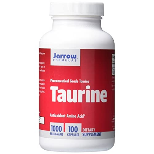 Jarrow Taurine (1000mg, 100 Capsules)
