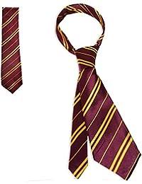 Wizard School Tie Burgundy and Gold