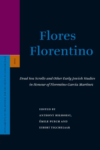 Flores Florentino: Dead Sea Scrolls and Other Early Jewish Studies in Honour of Florentino García Martínez: Dead Sea Scrolls and Other Early Jewish ... to the Journal for the Study of Judaism)