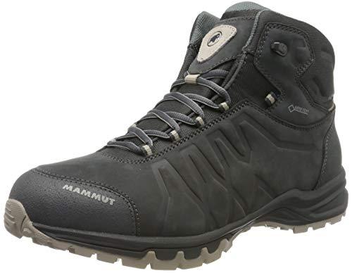 Herren High Boot Tops (Mammut Herren Mercury III Mid GTX Trekking- & Wanderstiefel, Grau (Graphite/Taupe 0379), 44 EU (9.5 UK))
