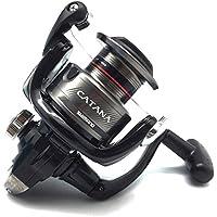 SHIMANO Catana 2500 FD, Carrete de Pesca con Freno Delantero, CAT2500FD