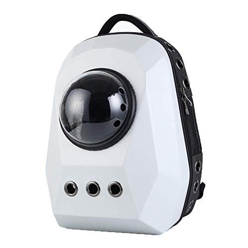 HBHJG Tragbarer transparenter Rucksack des Blasen-Fördermaschinen-Katzen-Hundehaustieres, atmungsaktiver Reise-Raumkapsel-Kätzchen-Welpen-Rucksack Boys Blase