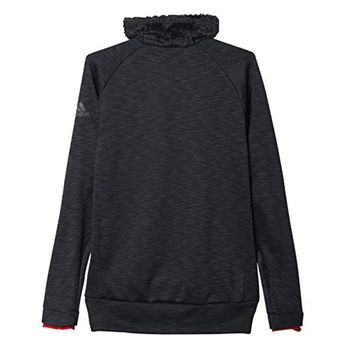 adidas Herren Pullover Climaheat High-Neck Grün / Rot