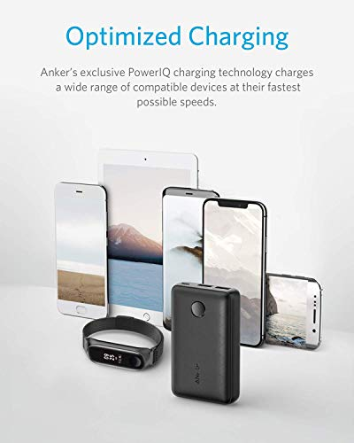 Anker PowerCore Select 10000, 10000mAh Portable Charger with 2 USB-A Ports, Light and Portable Power Financial institution, Power IQ 1.0 12W External Battery with Multi Protect and Voltage Boost Image 5