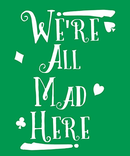 -- We're all Mad -- Boys T-Shirt Kelly Green