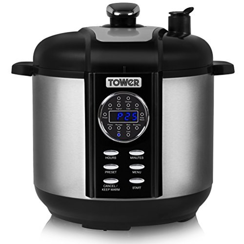 tower 5l multi function pressure cooker. Black Bedroom Furniture Sets. Home Design Ideas