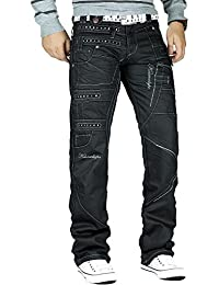 Kosmo Lupo - Jeans - Relaxed - Homme noir noir