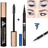 Kit L'Oréal Paris Mascara Volumissime Extra Black Noir + 1 L'Oréal Super Liner Perfect Slim Blue Eyeliner (2 produits)