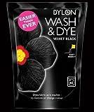 Samt schwarz Waschen und Dye
