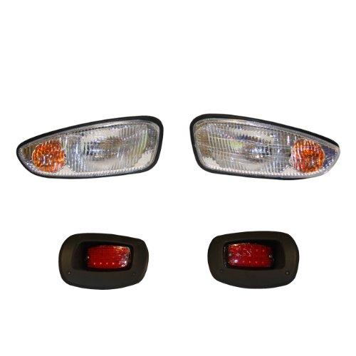 EZGO PF11527 Basic Light Kit für Gas- und Elektro-RXV Golfwagen, transparent