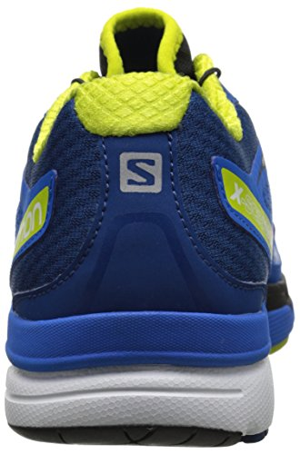 Salomon X-Scream 3D, Chaussures de Running Compétition Homme Bleu (Union Blue/Gentiane/Gecko Green)