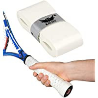 Performance Grips – Die neuen innovativen Griffbänder für Tennis, Squash, Badminton - Tacky Overgrips mit Perforation (Löcher) für Anti Rutsch Effekt und Schweiß Absorption