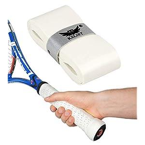 Performance Grips – Die neuen innovativen Griffbänder für Tennis, Squash, Badminton – Tacky Overgrips mit Perforation (Löcher) für Anti Rutsch Effekt und Schweiß Absorption