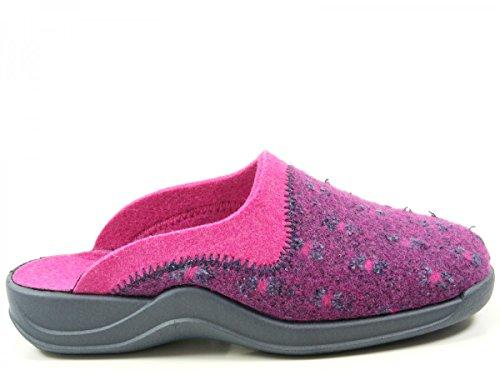 Rohde 2300 Vaasa-D Pantofole Donna Violett
