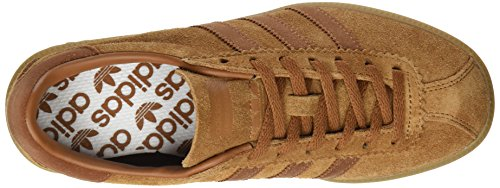 adidas Bermuda, Formatori Bassi Unisex – Adulto Marrone (Brown/cargo Brown/gum)