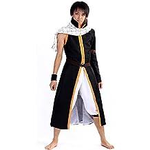 De-Cos Cosplay Costume Salamander Dragon Slayer Dragneel Natsu Outfit V3 Set