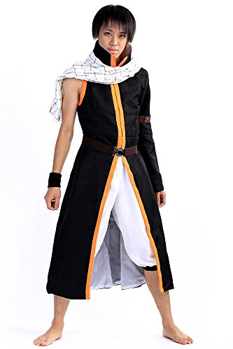 De-Cos Fairy Tail Series 2 Salamander Dragon Slayer Dragneel Natsu Outfit V3 (Dragon Kostüm Slayer)