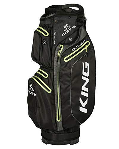 Cobra King UltraDry Cart Bag/Golfbag schwarz Puma Golftasche 909282, Farbe:Schwarz -