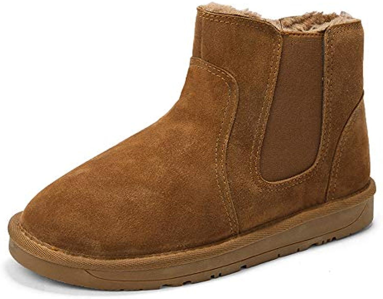 Men And Wonmen Stivali da Neve alla alla alla Moda Casual Classic Tinta Unita Winter Faux Fleece Inside Home scarpe Scarpe... | Vendita  | Uomini/Donna Scarpa  7e6c25