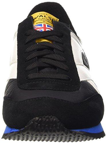 Walsh Tornado, Chaussures Basses Homme Multicolore (Black/Black/White)
