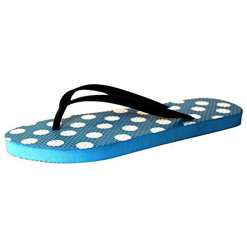 Eastlion Frauen und Mädchen Blumen Design Bequeme Sommer Hausschuhe Flip Flops Strings Strand Hausschuhe Schuhe, Grün 39