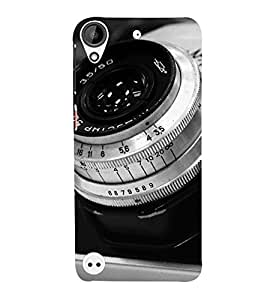 Takkloo Digital Camera ( Dialer of Camera, Lens of Camera, nice camera, Black camera) Printed Designer Back Case Cover for HTC Desire 530