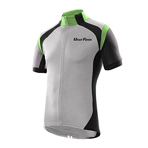 Uglyfrog Short Sleeve Cycling Jersey Men's Summer Top Outdoors Sportswear Bike Shirt H35