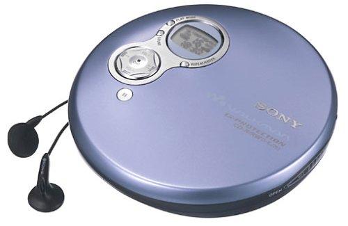 Sony D-EJ751/L tragbarer CD-Player blau