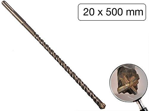 SDS-plus Betonbohrer 16 mm x 600 mm Quadro Bohrer Hammerbohrer Steinbohrer