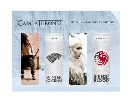 SD Toys - Game Of Thrones, set d punto de libro magnético (SDTHBO02062)