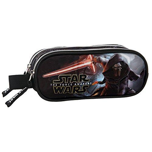 Star Wars The Force Awakens Vanity Trousse Deux Compartiments, 23 cm, Noir